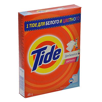 958-040 Стиральный порошок Тайд для белого и цветн. для ручной стирки Альпийская свежесть к/у 400г, 81625824