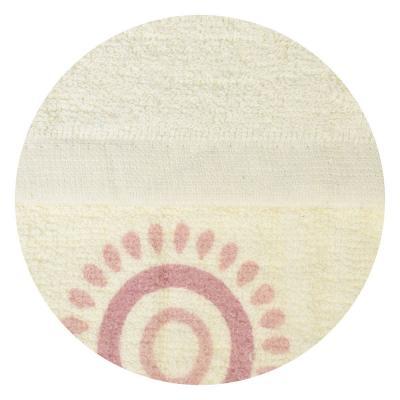 "484-726 Полотенце махровое, 100% хлопок, 30х70см, 70гр,""Круги"", 3 цвета, арт.KYM27"