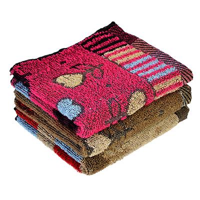 484-732 Полотенце для рук махровое, хлопок, 30х70см, 2 цвета, VETTA