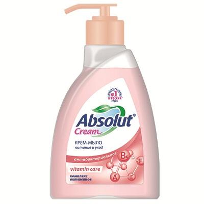 952-017 Мыло жидкое Absolut CREAM vitamin care п/б 250мл арт.5129