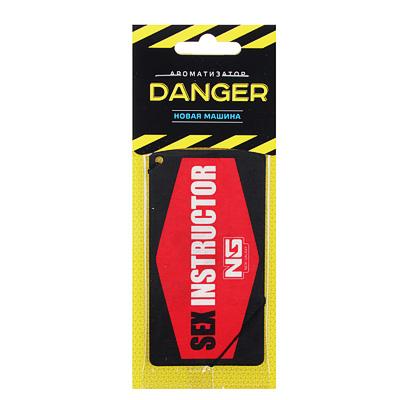 """794-318 Ароматизатор в машину бумажный, аромат новая машина, """"Danger/Sexinstuctor"""" NEW GALAXY"""