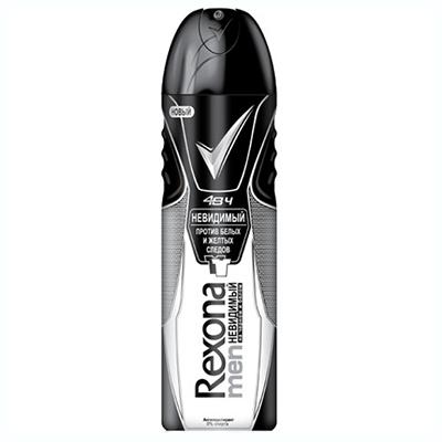 976-009 Антиперспирант аэрозоль Rexona Men Невидимый на черном и белом в/у 150мл
