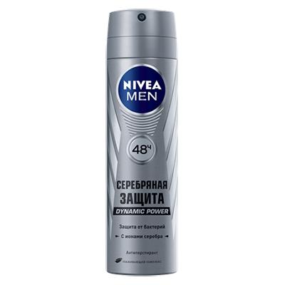 976-015 Дезодорант NIVEA мужской Серебряная защита п/б 50мл