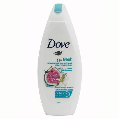 951-019 Гель для душа Dove Инжир и лепестки апельсина п/б 250мл