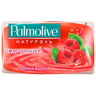 952-027 Мыло твердое Palmolive Смягчающее Свежая малина/у 90г
