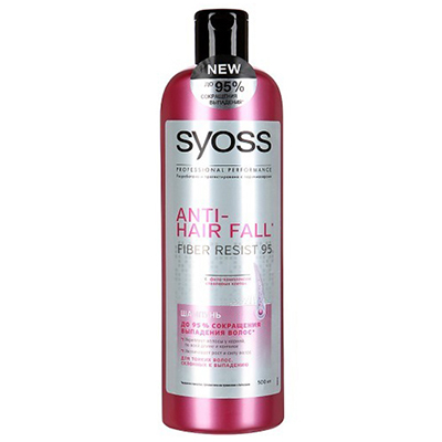 974-024 Шампунь SYOSS ANTI-HAIR FALL для тонких волос склонных к выпадению п/б 500мл