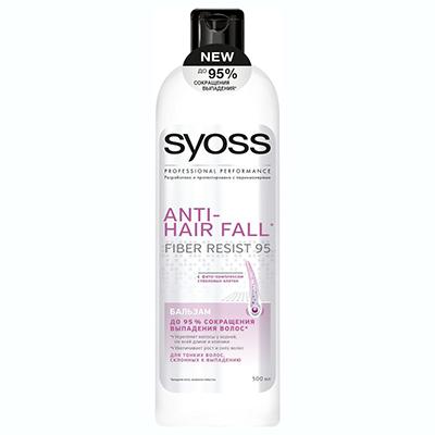 971-014 Бальзам-ополаскиватель SYOSS ANTI-HAIR FALL для тонких волос склонных к выпадению п/б 500мл