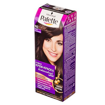 972-022 Краска для волос Palette N2 Тёмно-каштановый к/у 100 мл 2056322