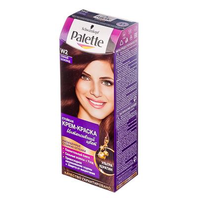 972-024 Краска для волос Palette W2 Темный шоколад к/у 100 мл 2053758