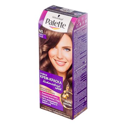 972-026 Краска для волос Palette N5 Тёмно-русый к/у 100 мл 2056319/2256091