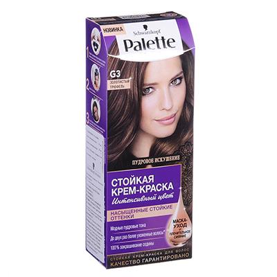 972-027 Краска для волос Palette ICC LG5 Темная карамель/ICC G3 Золотистый трюфель, к/у 100мл/110мл, 2096729