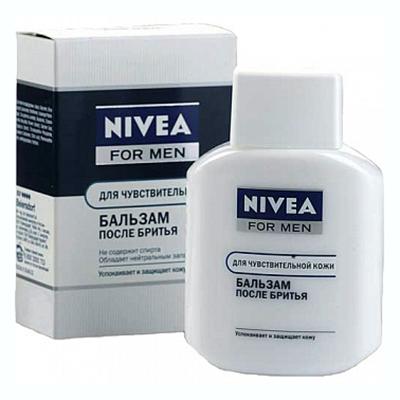 947-002 Бальзам после бритья NIVEA для чувствительной кожи с/б 100мл