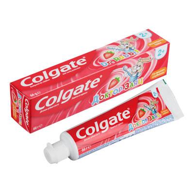 981-008 Зубная паста COLGATE Доктор Заяц вкус Жвачки туба 50мл 188189286