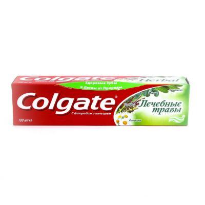 981-009 Зубная паста COLGATE Лечебные травы туба 100мл,арт.188189281