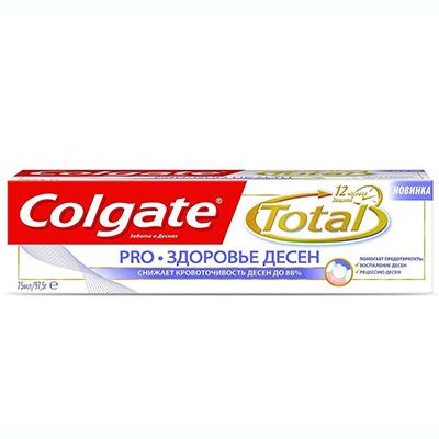 981-013 Зубная паста COLGATE TOTAL 12 Pro-Здоровье десен туба 75мл