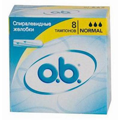 943-005 Тампоны o.b. Original нормал к/у 8шт