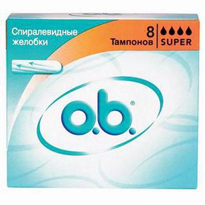 943-006 Тампоны o.b. Original Супер к/у 8шт