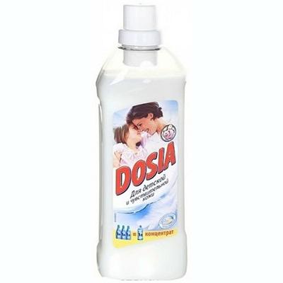 956-012 Ополаскиватель DOSIA Концентрат для белья для детской и чувствительной кожи п/б 1000мл