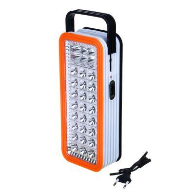 198-084 ЧИНГИСХАН Фонарь-светильник 24 + 6 ярк. LED, 3xD / шнур 220В, пластик, 24x10 см