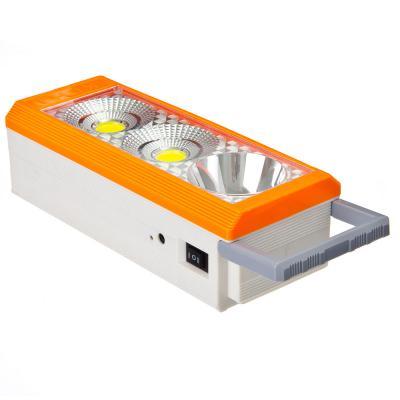198-085 Фонарь аккумуляторный переносной, пластик, 3xLED, 23,4x9,5см, пит.3xА, 220В, 6222