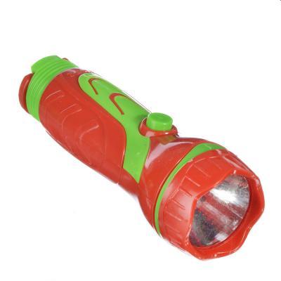 198-086 ЧИНГИСХАН Фонарик мини 1 LED, 1xAA, пластик, 11х4 см
