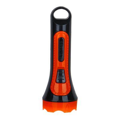 198-087 ЧИНГИСХАН Фонарик мини 1 LED, 1xAA, пластик, 10,6х4 см