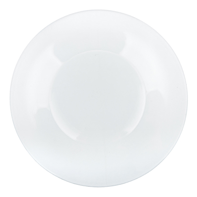 "877-505 Тарелка стеклянная мелкая d. 19,6см""симпатия"""