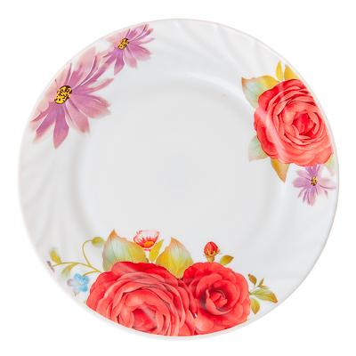 818-890 VETTA Флора Тарелка десертная опаловое стекло 176мм, HP-70