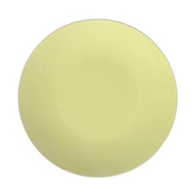 """824-635 Тарелка десертная керамическая, 20 см, лайм, дизайн GC, """"Глянец"""""""