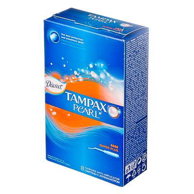 943-007 Тампоны женские гигиенические Тампакс Дискрит супер плюс с аппликатором 8шт арт. 83726365