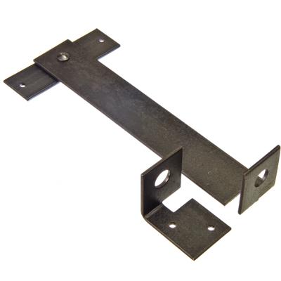 669-131 Щеколда гаражная 300 покрытие: черная эмаль