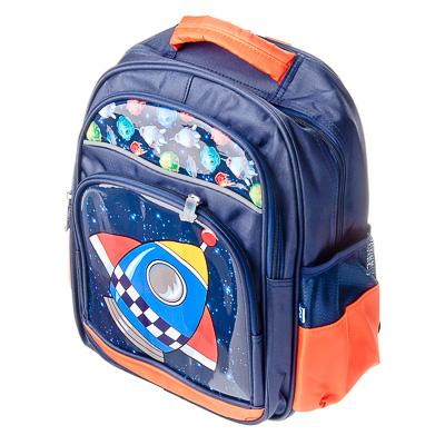 583-027 Созвездия Рюкзак для мальчиков, полиэстер, 35x29х14см, дизайн ГЦ