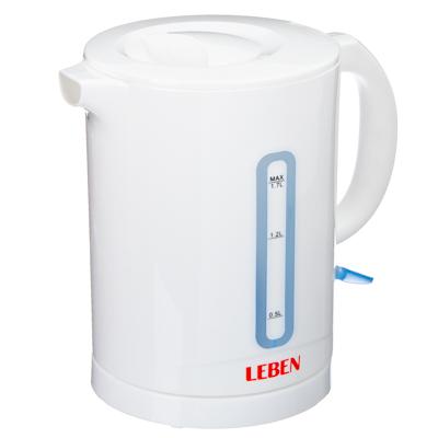 Чайник электрический 1,7л, 2000Вт, спиральный нагр.элемент, автооткл., пластик