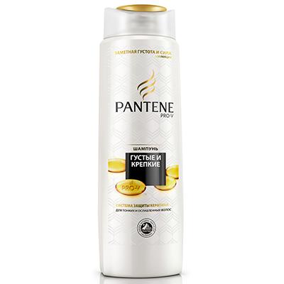 974-035 Шампунь PANTENE Густые и крепкие для нормальных волос п/б 400мл