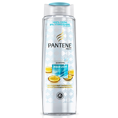 974-037 Шампунь PANTENE Aqua Light д/тонк./склон.к жирности волос п/б F34250мл