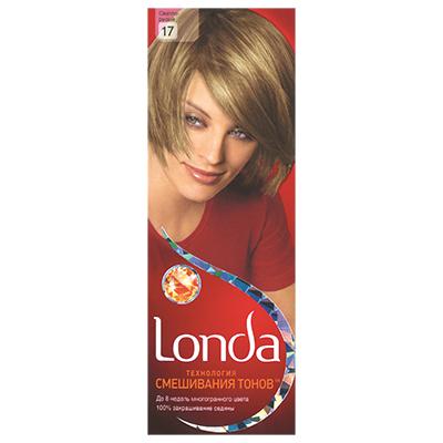 972-031 Крем-краска для волос LONDA стойкая 17 Светло-русый к/у