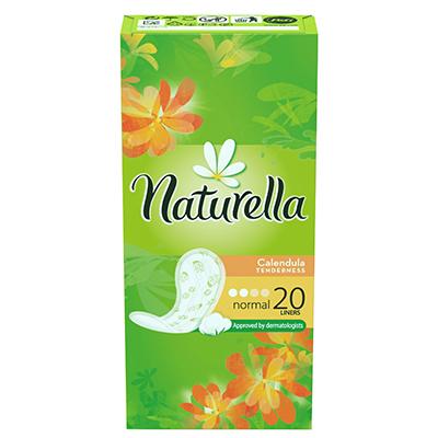 939-010 Прокладки гигиенические на каждый день NATURELLA Calendula Tenderness Normal Single к/у 20шт