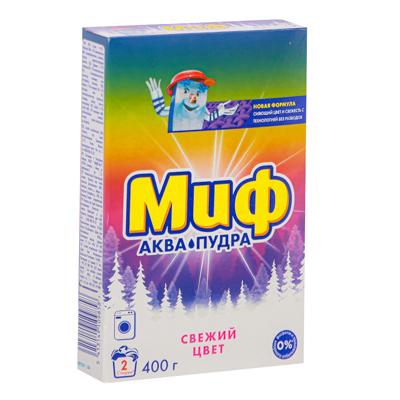 958-059 Стиральный порошок МИФ Автомат 3в1 Свежий цвет к/у 400г