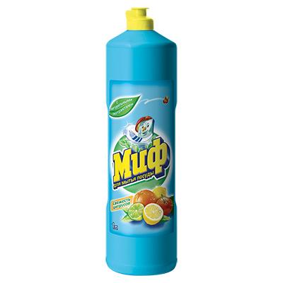 992-022 Средство для мытья посуды МИФ Свежесть цитрусов п/б 1л