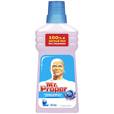 986-005 Моющая жидкость для полов и стен MR PROPER Лавандовое Спокойствие п/б 500мл