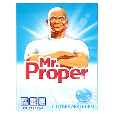 986-008 Чистящее средство универсальное для твердых поверхностей MR PROPER Лимон к/у 400г