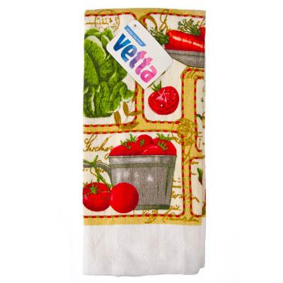 434-002 VETTA Овощной микс Полотенце, 38х63см, ТС