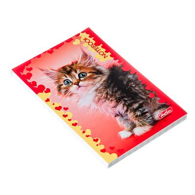 524-102 Блокнот А7 48л, кл.склейка, картон.обл,2 дизайна, арт.В012703/В197547