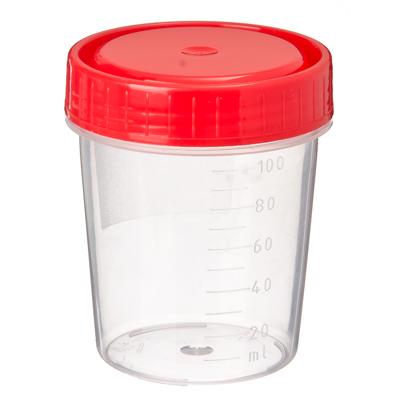 360-064 Контейнер для биоматериалов, стерильный, пластик, 120мл. - 125 мл. арт 1С/1
