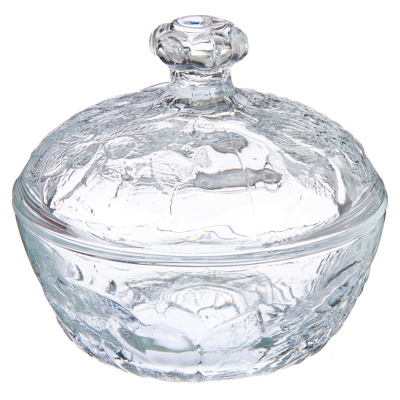 "877-518 PASABAHCE Сахарница стекло, ""Пикник"" 131мм, 97556B"