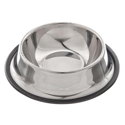 152-015 Миска для животных металлическая d15см, 180мл
