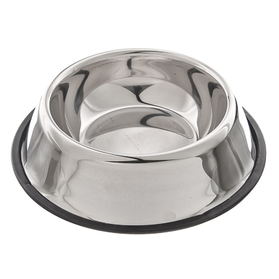 152-017 Миска для животных металлическая d22см, 500мл