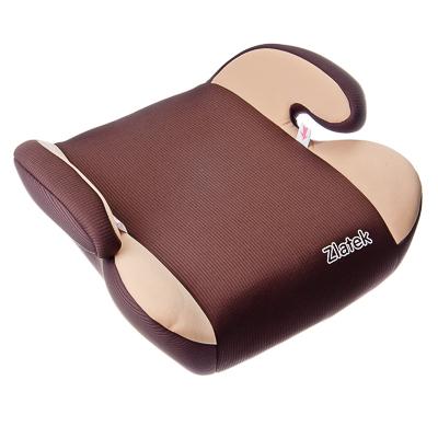 734-009 Детское сидение-бустер автомобильный Raft 22-36кг, цвет коричневый
