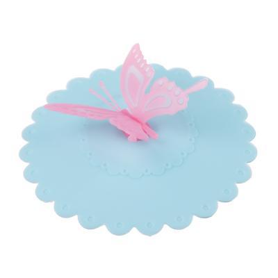 891-290 Крышка для кружки Бабочка, d.10,5 см, силикон