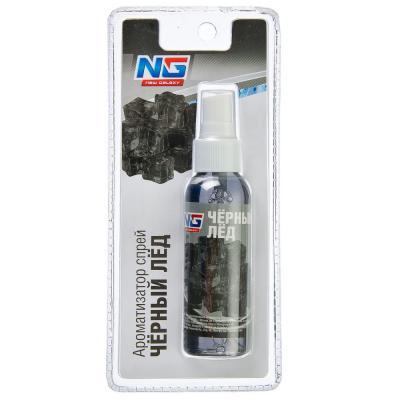 794-335 Автомобильный ароматизатор спрей, аромат черный лед, NEW GALAXY